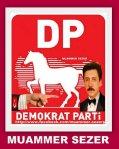 muammer sezerdemokrat parti0